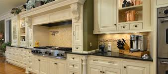 cream kitchen cabinets with black countertops. Kitchen, White Custom Built Kitchen Cabinets With Black Countertops And Green Wall Combination: New Cream
