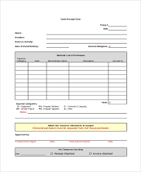 Cash Receipt Forms Printable Receipt Forms 41 Free Documents In Word Pdf