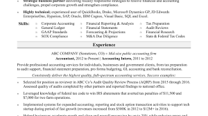 Resume Samples For Accounting Jobs Sample Objective Job In India ...