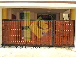 folding gate door folding gates wooden gate pet harga folding gate rolling door folding security gate