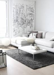 White couch living room ideas Pinterest Grey And White Living Room Residence Style White Sofa Design Ideas Pictures For Living Room