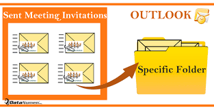 how to auto move sent meeting invitations to a specific folder in your outlook data recovery