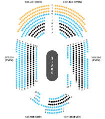 Blue Man Group Chicago Seating Chart Your A To Z Guide To Broadway Theater Seating Charts