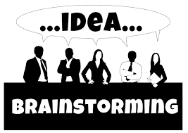 Image result for brainstorming clipart