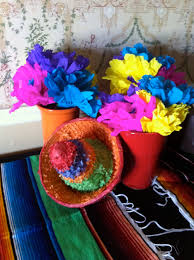 Fiesta Table Decorations Fiesta Centerpiece Ideas The Posh Pixie Mexican Party Table
