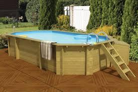 Zwembad Hout 400x550cm Op Op Zelfbouw Zwembad Hout