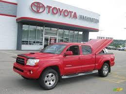 2005 Radiant Red Toyota Tacoma V6 TRD Sport Double Cab 4x4 ...