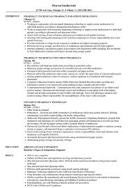 Pharmacy Technician Resume Sample Inpatient Pharmacy Technician Resume Samples Velvet Jobs 20