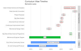 Visualize Your Cvs Timeline With R Gantt Chart Style