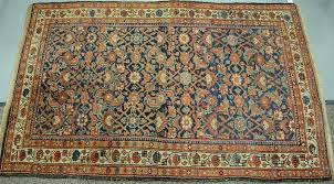 oriental throw rug 4 4 x 6 6 provenance from the estate of faith k tiberio of sherborn massachusetts by nadeau s auction gallery bidsquare