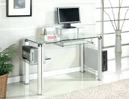 glass top computer desk with drawers canada target