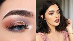 lavender copper eyeslavender and copper are two tones that can be used for a gorgeous