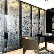 folding home decorative stained glass interior doors for wardrobe door images frameless bifold p