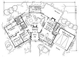 Ranch House Plans  Contemporary 1 Bedroom With ICF WallsContemporary Ranch Floor Plans
