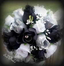 wedding flowers black and white silk wedding flowers Wedding Bouquets Black And White black and white silk wedding flowers black and white silk wedding bouquets
