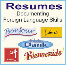 how do you write resumes how to write resume foreign language skills