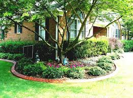 office landscaping ideas. Garden, Fancy Small Yard Also Has Front Landscaping Ideas On Budget Amys Office With Doorit E