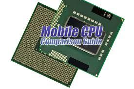 The Tech Arp Mobile Cpu Comparison Guide Rev 14 0 Tech Arp