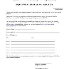donation receipt forms 100 donation acknowledgement letter template create an