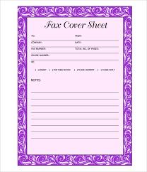 Printable Fax Cover Letter Template Lezincdc Com