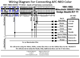 afc neo color wiring diagram gt stealth international afc neo color wiring diagram 91 93 3000gt stealth international message center