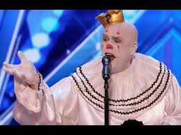 sad shy clown with his mind blowing version of sia s chandelier week 1 america s got talent 20