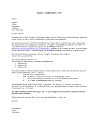 How To Write A Letter For A Grant Proposal Www