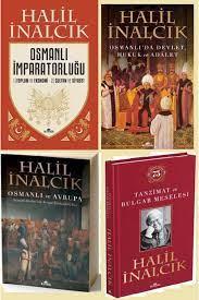 Kronik Kitap Halil Inalcık Seti 4'lü Kitap. Osmanlı Imparatorluğu-tanzimat  Ve Bulgar Meselesi Fiyatı, Yorumları - TRENDYOL