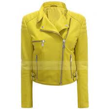jacket black leather jacket yellow motorcycle jacket womens jacket yellow jacket biker jacket asymmetrical jacket quilted