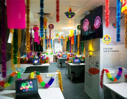 Office decoration ideas Design Diwali Decoration Ideas For Office Cubicle Quotemykaamcom Diwali Office Decoration 1000 Diwali Decorations Ideas In Office