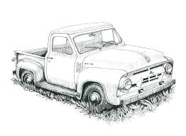 old truck coloring pages old truck coloring pages free coloring