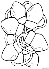 Christmas Lights Coloring Pages Getcoloringpagescom