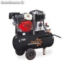 compresor de aire de gasolina. compresor de aire pistón a gasolina 100l. 10 bar 5,5 cv s