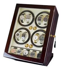 Standing Watch Display Case Luxury Display Automatic Watch Winder For 100 Watches100 model 76