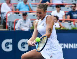 Pliskova upsets top seed Sabalenka ...