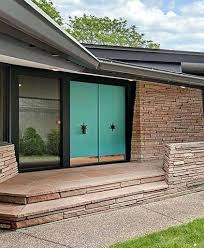 mid century modern front porch. Modern Front Door Related Stories Mid Century Colors . Porch