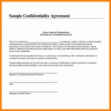 Basic Non Disclosure Agreement Nda Template Word Confidentiality