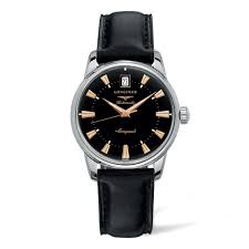 longines mens watches beaverbrooks the jewellers longines conquest heritage automatic men s watch