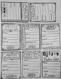 how to make your own trading cards pin by sadie carlson on art pinterest artist trading cards