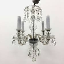 description this very beautiful french antique crystal chandelier