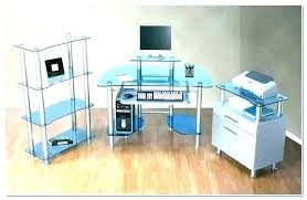 full size of metal and glass home office desks top desk white furniture adorable glacier modern