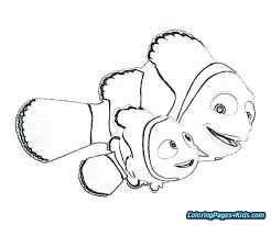 Finding Nemo Coloring Coloring Page Finding Coloring Pages Free