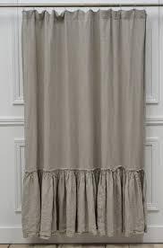 slate grey shower curtain