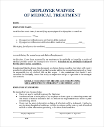 Medical Release Form Sample Custom Medical Waiver Form Samples 44 Free Documents In Word PDF
