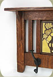 Craftsman Coat Rack Fascinating Mission 32 Hook Coat Rack Wthree 32 Tiles Sold Separately [CR3232