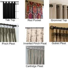 Image of: Different Styles Of Curtains And Drapes 391