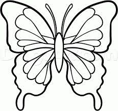 drawing butterfly pictures.  Drawing Image Result For Easy Drawings Step By Butterfly For Drawing Butterfly Pictures R