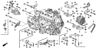 31110 p2a 004 genuine honda belt, alternator (mitsuboshi) 2000 Civic Belt Diagram 1996 honda civic 2 door hx ka 5mt alternator bracket engine stiffener 2000 honda civic serpentine belt diagram