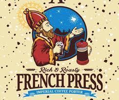 Saint Arnold French Press Pint Night