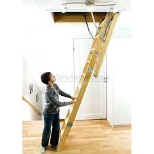 wooden loft ladder timber loft ladders timber loft ladders with handrails